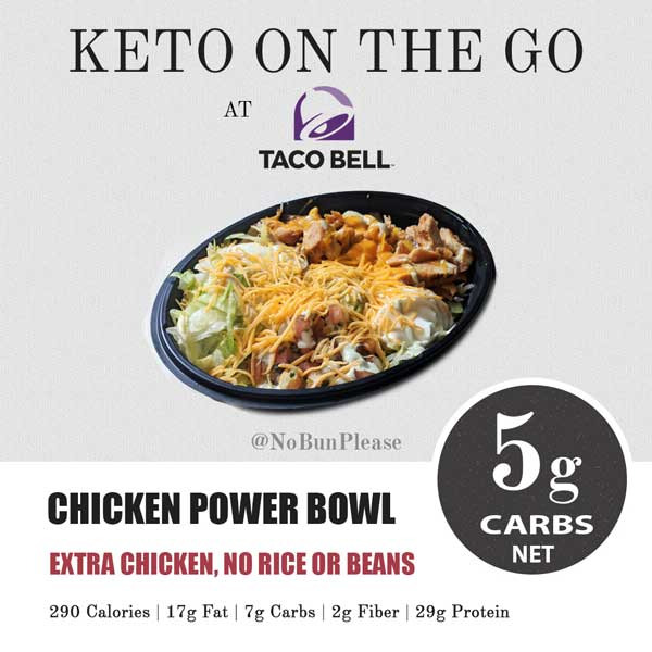 Keto Taco Bell Meal Option