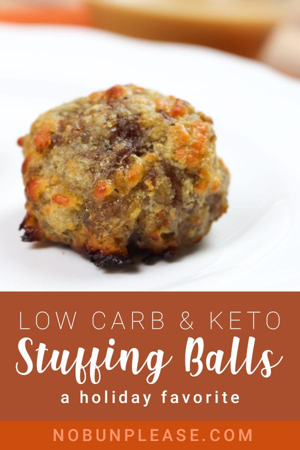 Keto Stuffing Balls - Perfect for the Holidays!