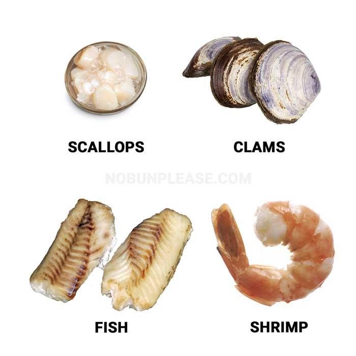 Keto Seafood