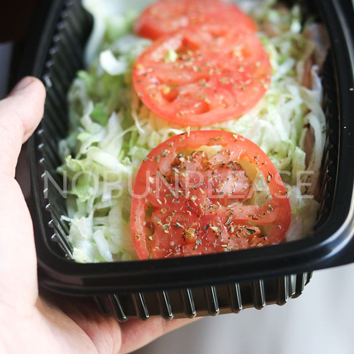 Keto Sub in a Tub from Jersey Mike's
