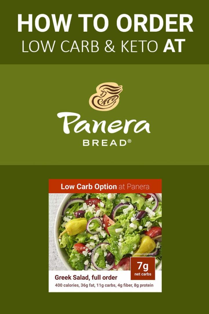 Panera Guide for Keto