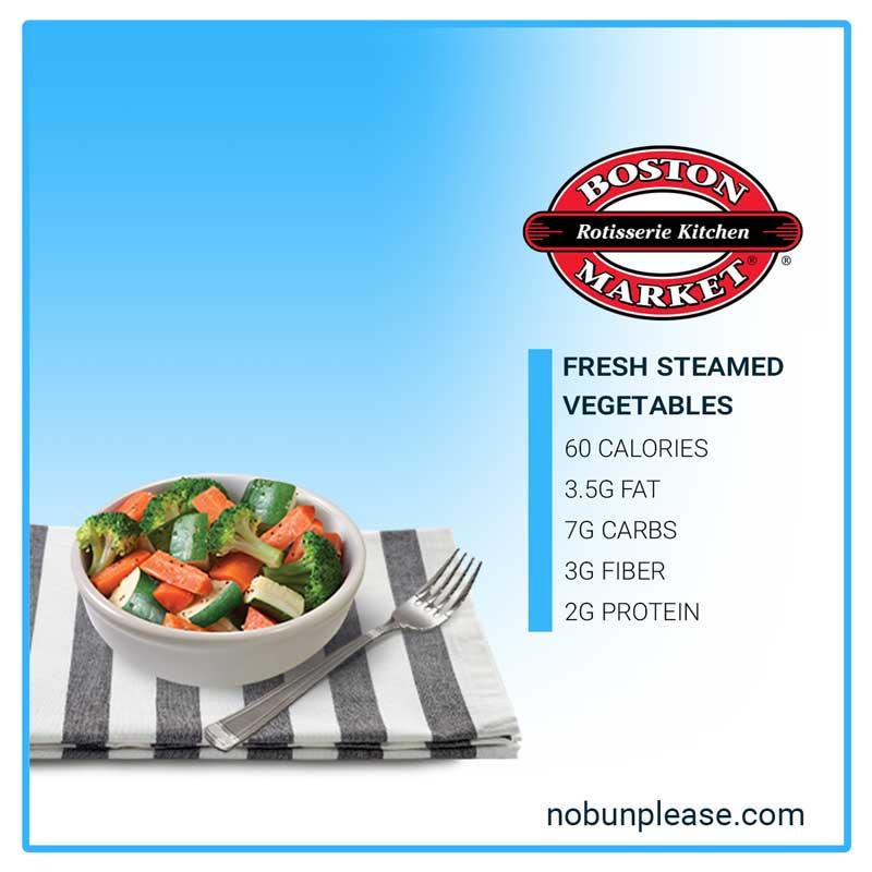 Steamed Vegetables from Boston Market