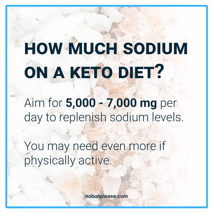 Sodium on Keto