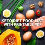 Keto Diet Foods with Printable PDF