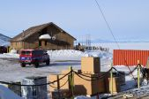 The National Science Foundation building at McMurdo