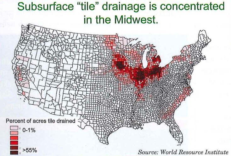 tile drainage and cafos