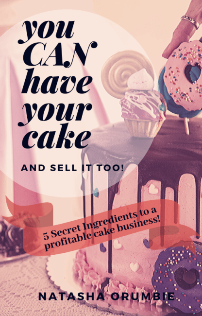 You can have your cake and sell it too!