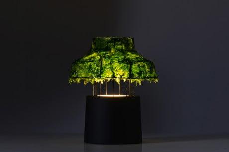 Marine Light Nir Meiri 7 e1369140932898 Israeli Designer Uses Seaweed To Create Cool Lamps
