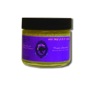 400 mg Purple Chocolate CBD Salve