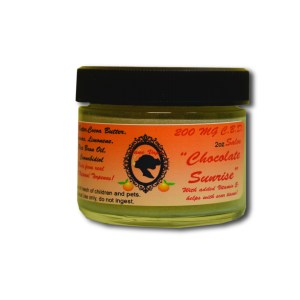 200 mg Chocolate Sunrise CBD Salve