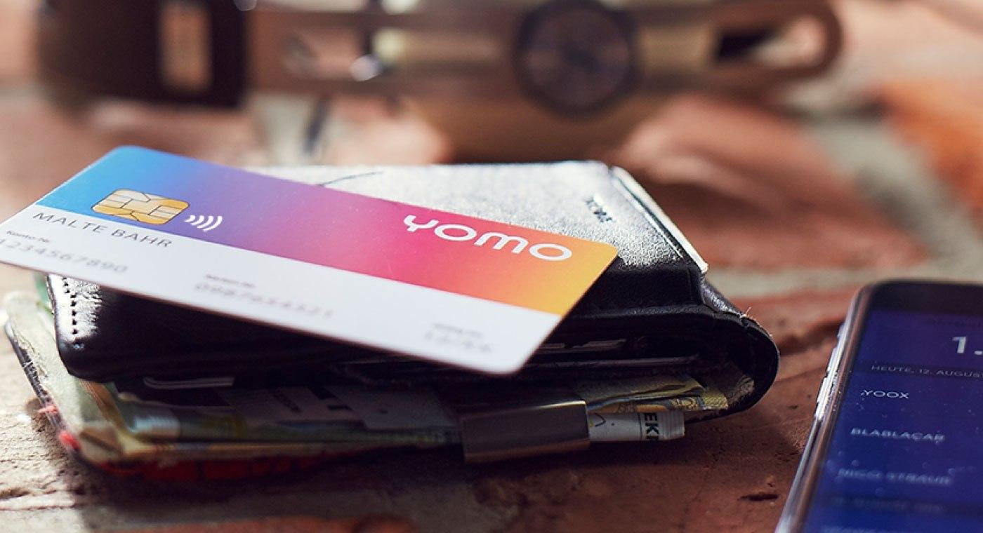 yomo Debitkarte auf Wallet