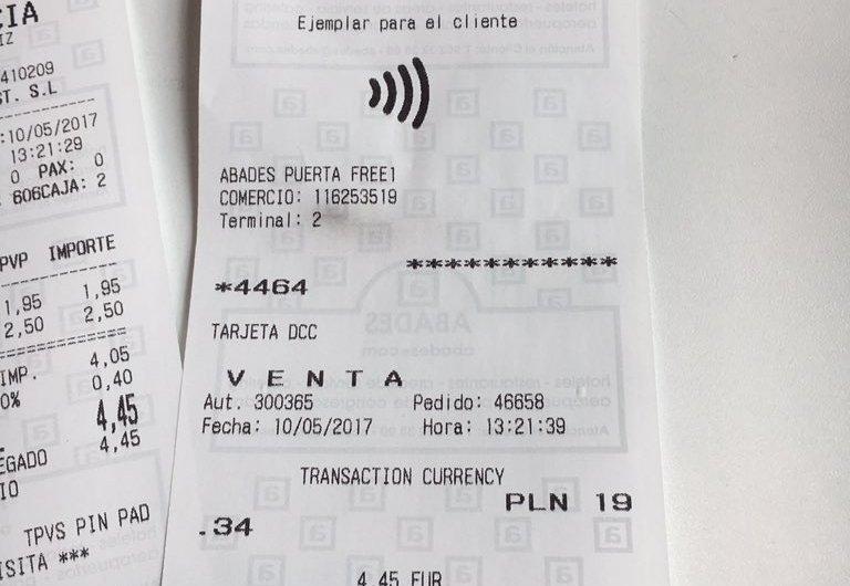 Achtung: Autom. Währungsumrechnung (DCC) jetzt auch kontaktlos