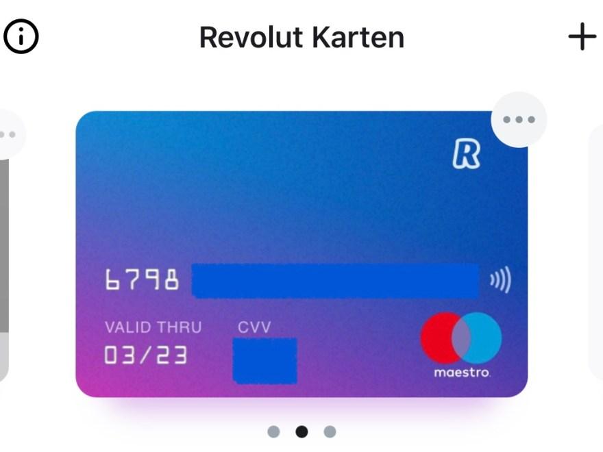 Revolut Bietet Ab Sofort Maestro Karte Als Option An Nocash Blog