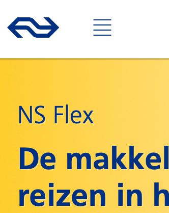 Schluss mit Aufladen: Mit NS-Flex und OV-chipkaart auf Rechnung reisen (Update)