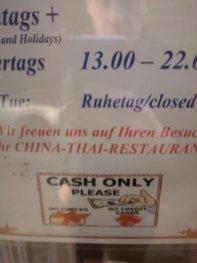 In Dresden eher die Ausnahme (@tmmd, März 2020)