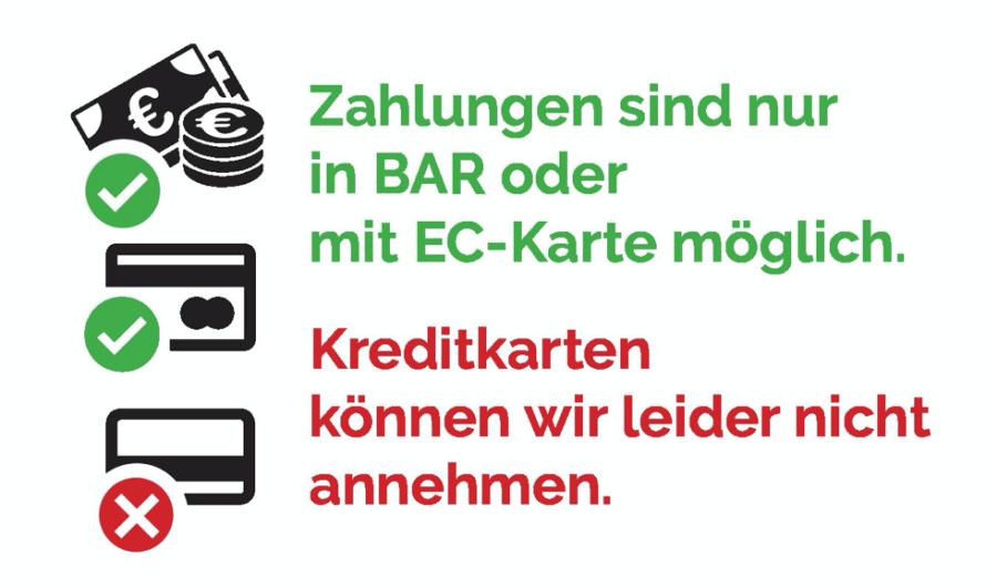 """Warum inzwischen """"Nur EC-Karte"""" nicht mehr ausreicht!"""