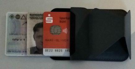 Perso, Führerschein und girocard