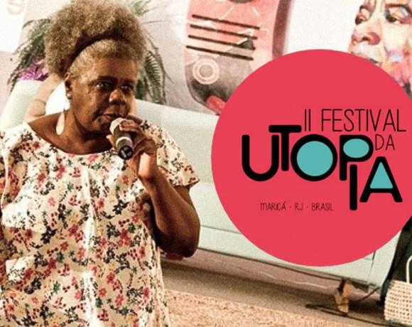 Festival Internacional da Utopia, em Maricá (RJ) recebe Conceição Evaristo