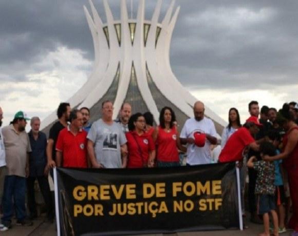 Greve de fome Lula
