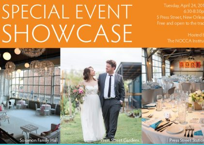 The NOCCA Institute's Special Event Showcase: Tuesday, April 24
