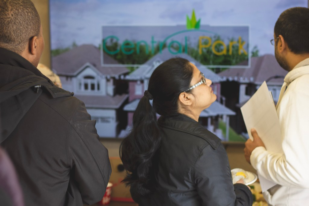 Strong Turnout at Central Park Windsor VIP Preview