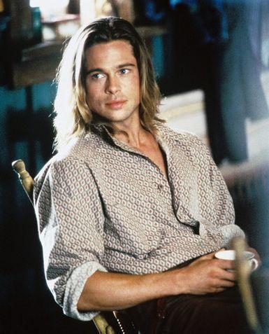 """Brad Pitt como Tristan en """"Leyendas de pasión"""""""