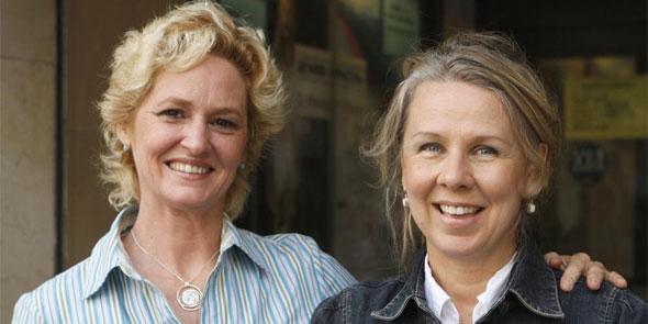 Melissa Leo y Courtney Hunt