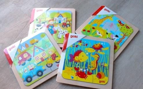 Legepuzzle von Goki, Spielzeug mieten bei kilenda