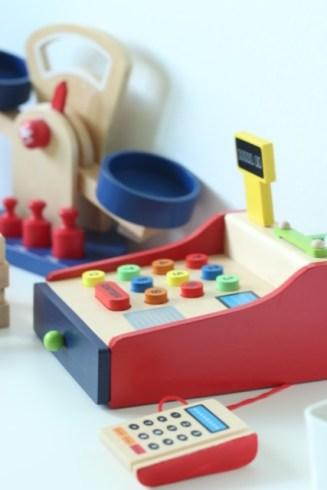 Kasse des Kaufmannsladen, Spielzeug mieten bei kilenda