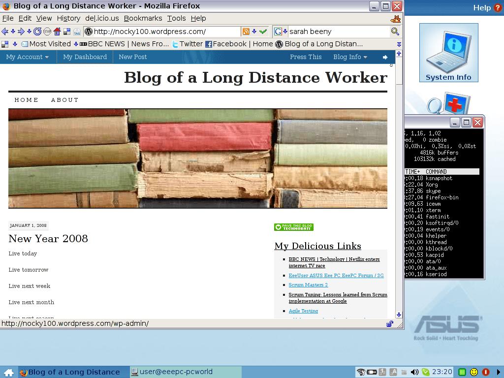 Asus EeePC Desktop