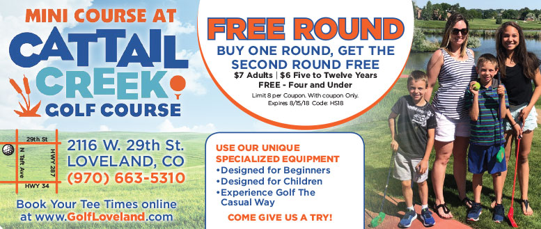 Loveland Golf - Mini Course at Cattail Creek 3-Hole Round Coupon
