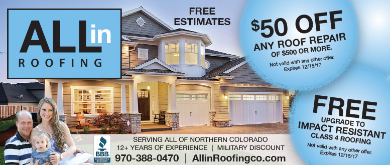 All In Roofing Repair Coupon
