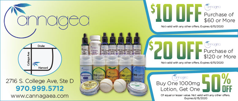 Cannagaea CBD Coupon Deals in Fort Collins