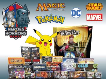 Heroes & Horrors Games and Comic Books in Windsor