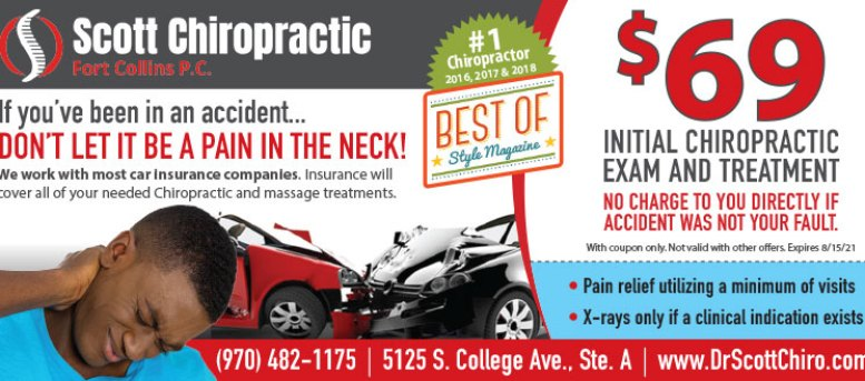 Scott Chiropractic & Massage Coupon Deals in Fort Collins - $69 Massage & Exam