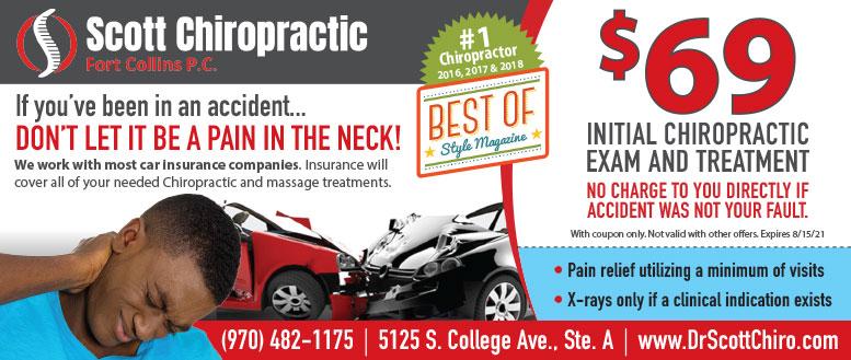 Scott Chiropractic & Massage Coupon Deals in Fort Collins - $69 Massage & Exam