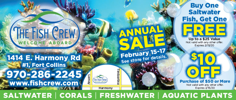 The Fish Crew - Live Plant & Coral Colony Coupon Deals