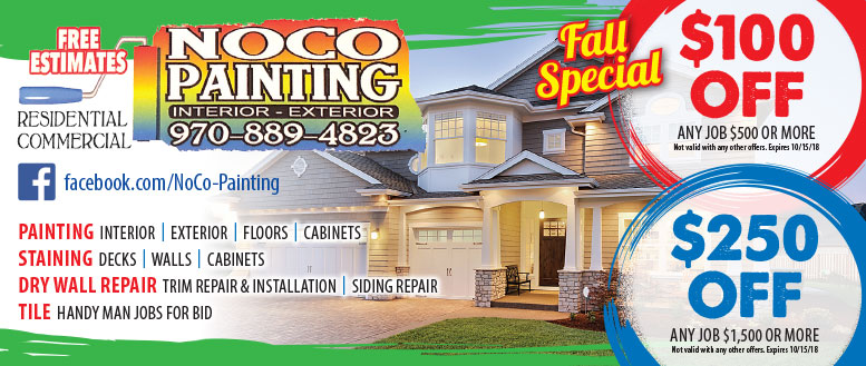 NOCO Painting   Interior U0026 Exterior House Painting Coupon Deals In Fort  Collins
