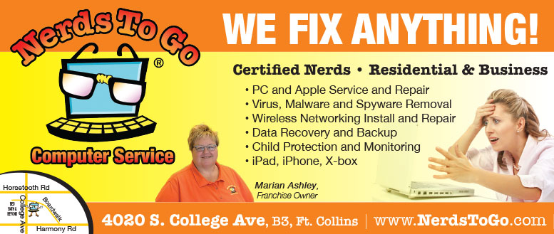 Nerds To Go Computer Service in Fort Collins - We Fix Anything