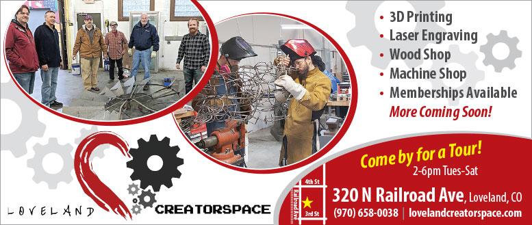 CreatorSpace in Loveland, CO - 3D Printing, Engraving, Wood Shop, Machine Shop & More