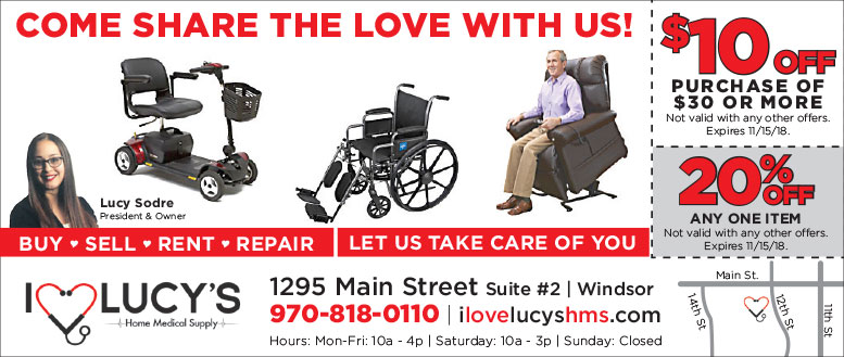 I Love Lucy's Home Medical Supply - Grand Opening Coupon Deals