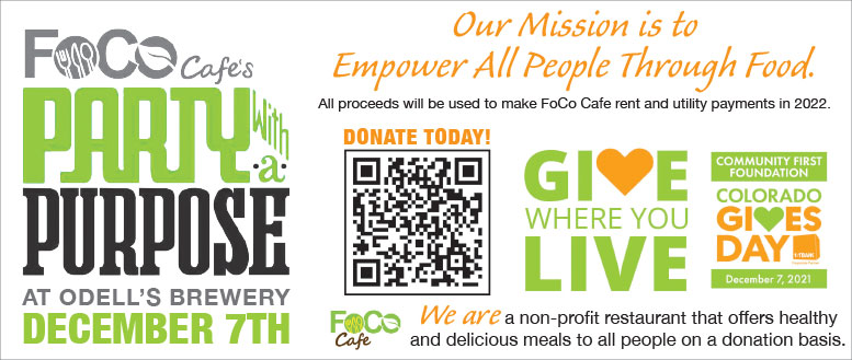 Save the FoCo Cafe, Fort Collins - Donate and Become a Sustaining Member