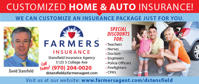 Farmers Insurance for Home and Auto with Agent David Stansfield