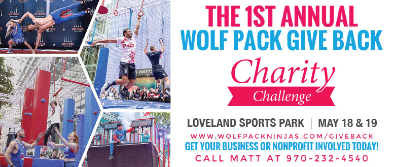Wolf Pack Ninja Charity Challenge at Loveland Sports Park