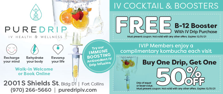 Pure Drip IV Health & Wellness, Fort Collins Coupon Deals