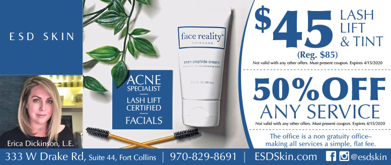 ESD Skin, Fort Collins - Lash Lift & Tint Coupon Deal