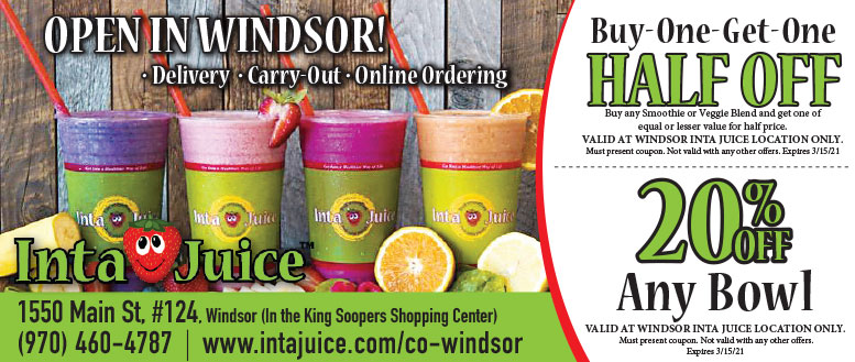 Inta Juice Coupons Deals in Windsor, CO