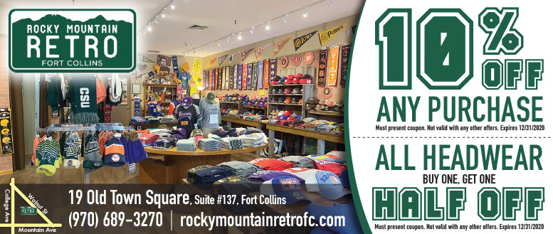 Rocky Mountain Retro, Fort Collins - Sportswear Coupon Deals
