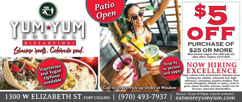 Yum Yum Social, Fort Collins - Coupon Deals