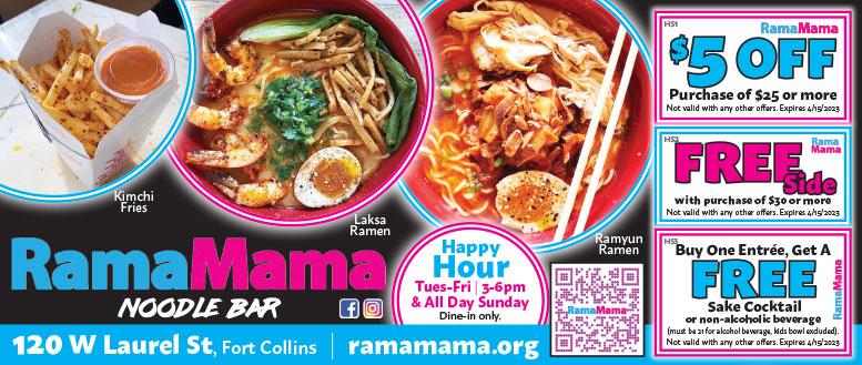 RamaMama, Fort Collins Coupon Deals